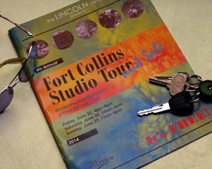 Fort Collins Studio Tour booklet