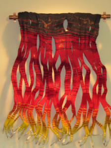 Megan Tilley's textile sculpture