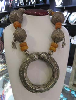 Necklace by Jacki Marsh of Rabbask Designs in Loveland, Colorado