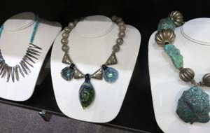 Jewelry by Jacki Marsh of Rabbask Designs in Loveland, Colorado