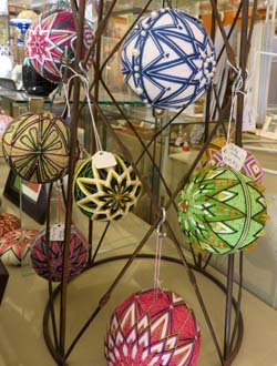 Christmas ornaments by Becky Margenau