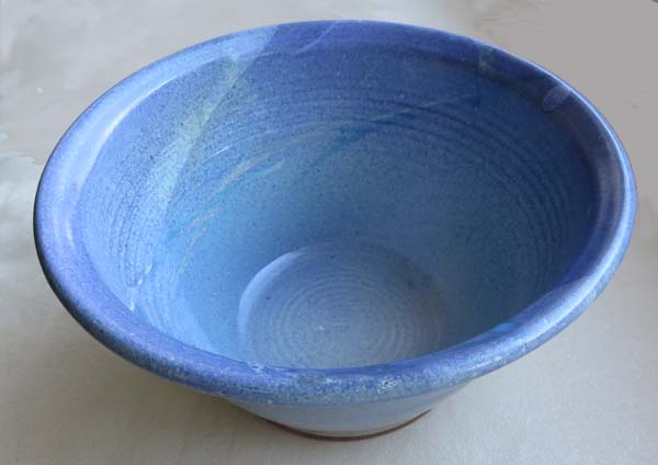 Functional ceramic bowl by T.S. Berger