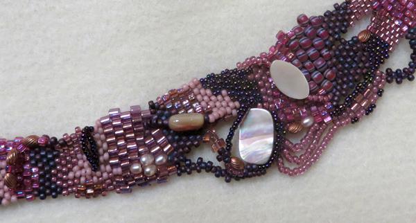 Woven bracelet by Heidi Gore
