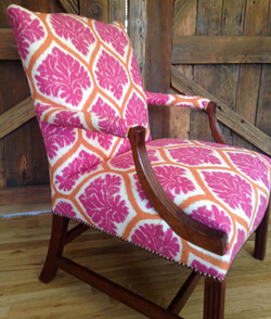 Restored chair by Jamie Solveson