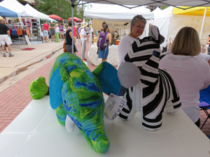 It's A Zoo at the Firefly Handmade Market in Boulder in 2014