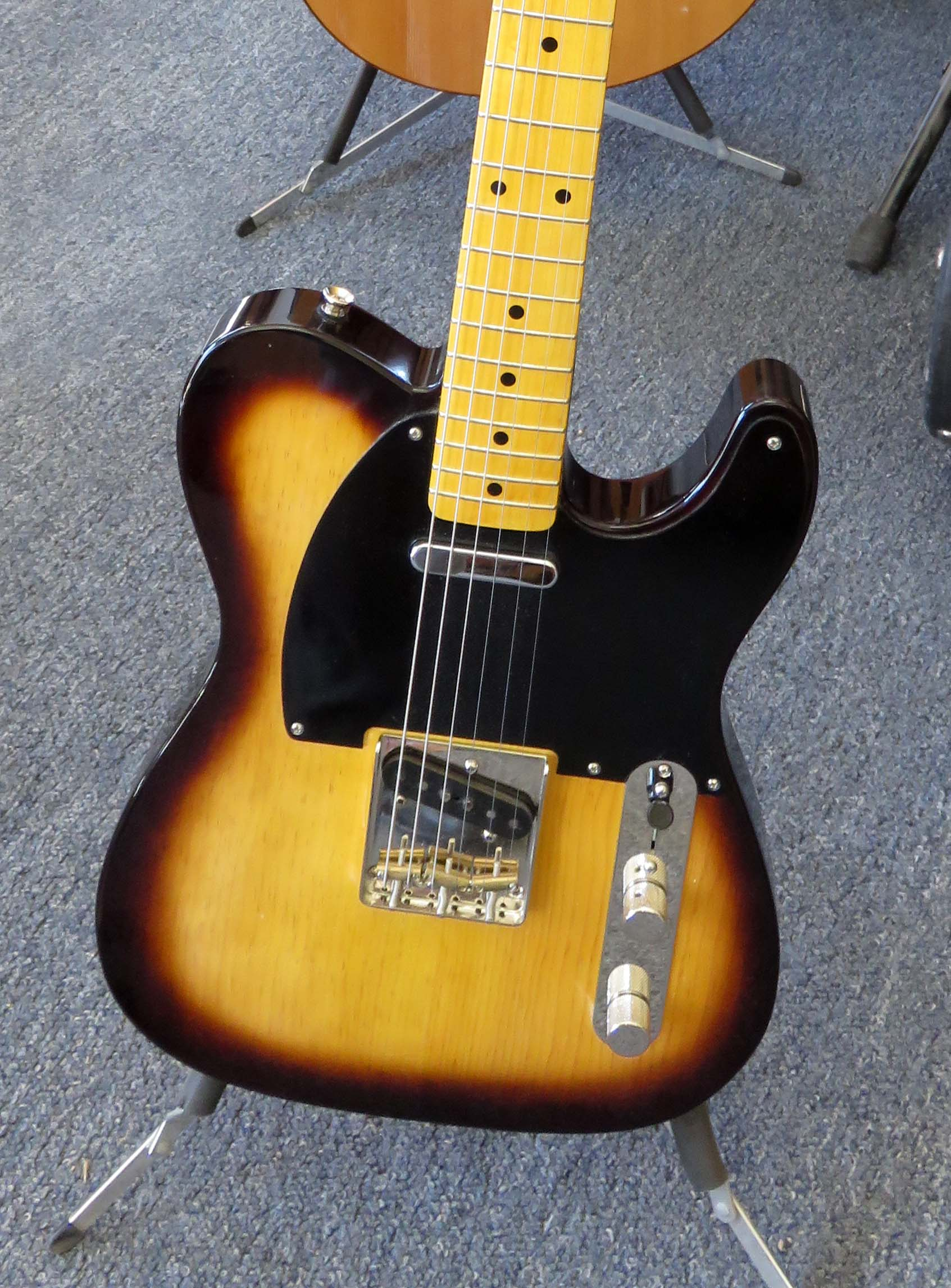 Electric guitar from Heart City Guitars in Loveland, Colorao