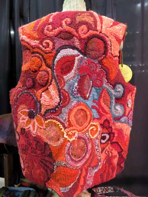 Wool vest by Una Walker