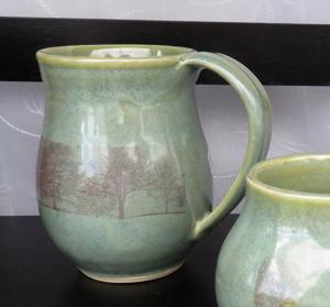 Ceramic mug with digital image by Diana Begner