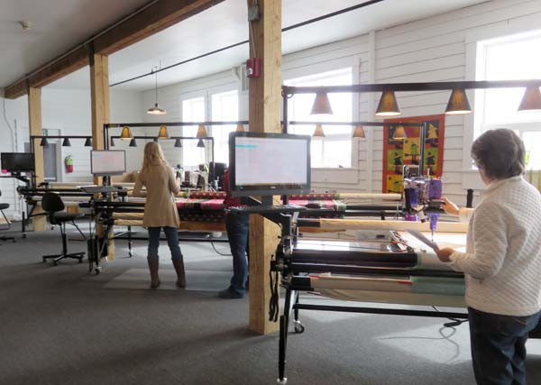 Gammill's longarm quilting systems at Jukebox Quilts